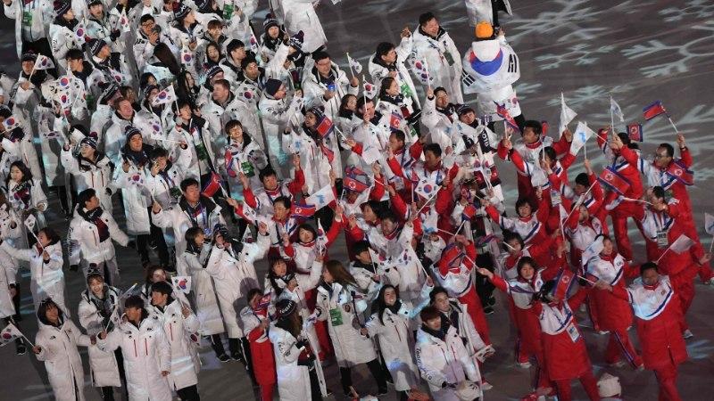 Põhja- ja Lõuna-Korea osalevad Tokyos ühise lipu all vähemalt kolmel alal