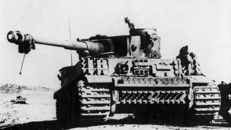LIITLASTE HIRM: kui võimas oli tegelikult natside Tiiger-tank?