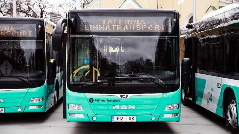 Tallinna Linnatransport ostab 200 uut gaasibussi