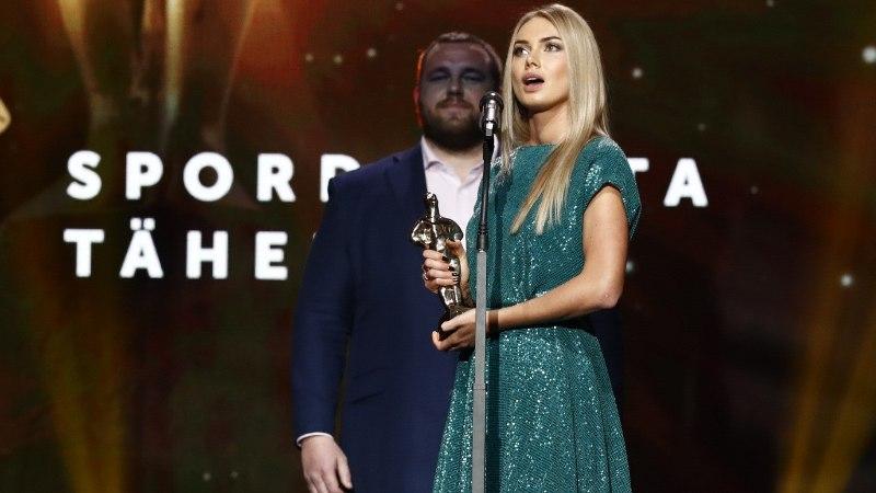 ÕL VIDEO | Aasta naissportlane Saskia Alusalu: see auhind on tükike igast hääletajast ja poolehoidjast