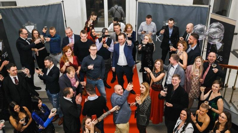 """Галерея: объединяющий успешных русскоязычных """"Клуб предпринимателей Эстонии"""" отметил Новый год"""