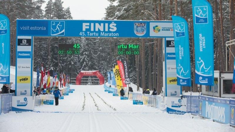 VIDEO | Tartu maratoni rajal saab juba suusatada!