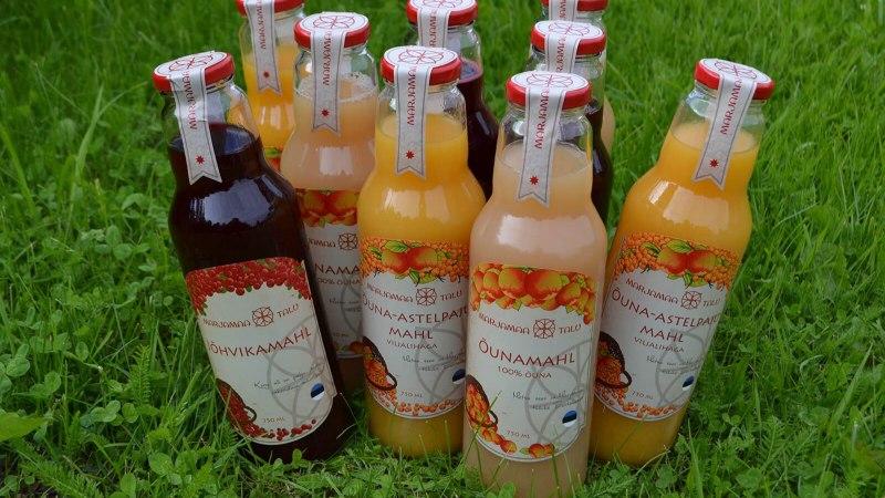 Midagi tervislikku igale maitsele: Marjamaa talu mahladest ja marjadest saab teha nii põnevaid jooke kui magustoite