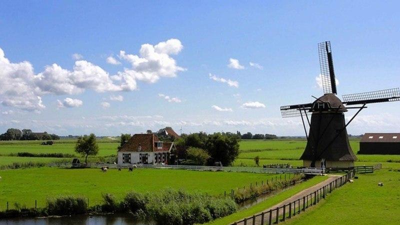 Maaliline Hollandi külake ei saa turistimassiga hakkama