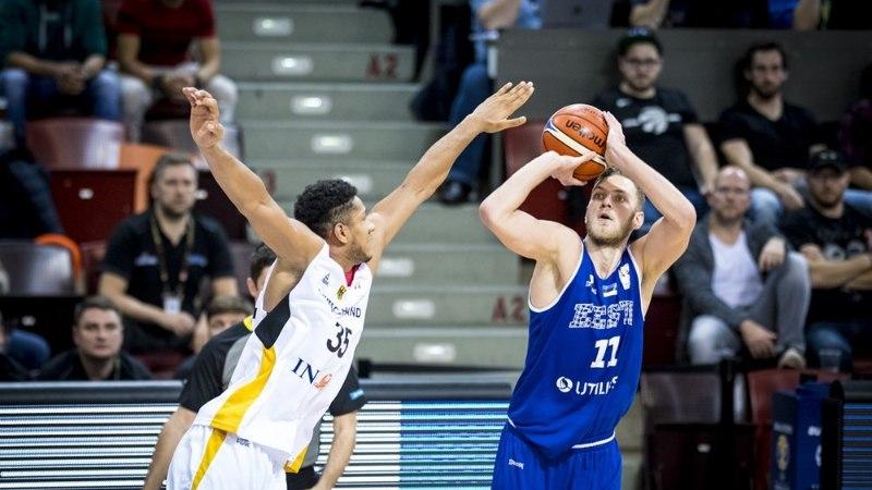 ÕL LUDWIGSBURGIS | Eesti korvpallikoondisel ei tekkinud Saksamaa vastu varianti
