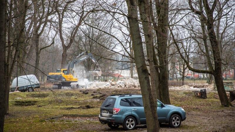GALERII | Kadrioru tondiloss on nüüdseks lammutatud