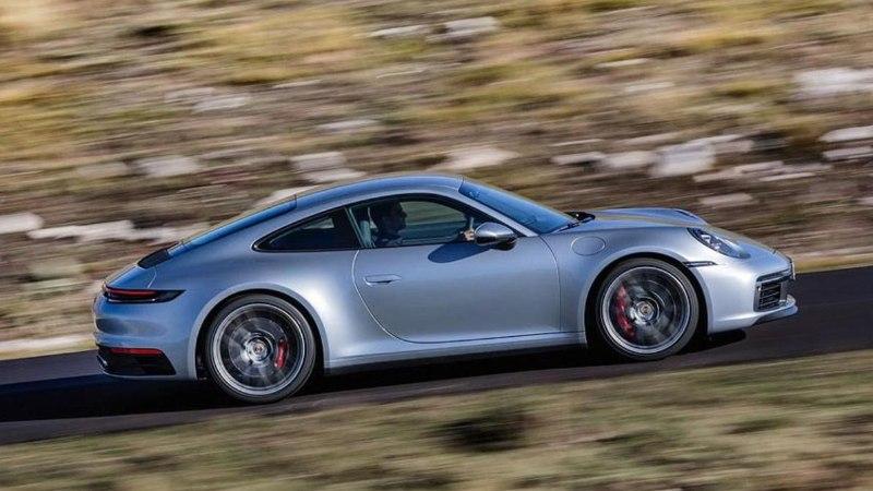 Lähivaates kaheksanda põlvkonna Porsche 911 – klassikat aeg ei murra!