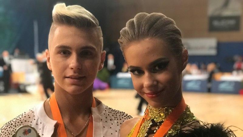 Noored tantsijad tegid ajalugu: Eestisse jõudis Euroopa karikasarja üldvõit
