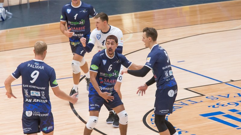 Südilt võidelnud Saaremaa võrkpallurid langesid eurosarjas konkurentsist
