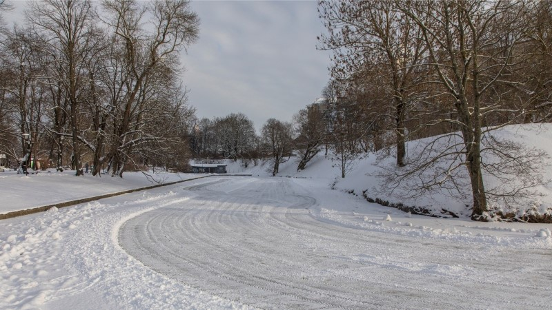 Родителей призывают не пускать детей на слабый лед пруда Шнелли