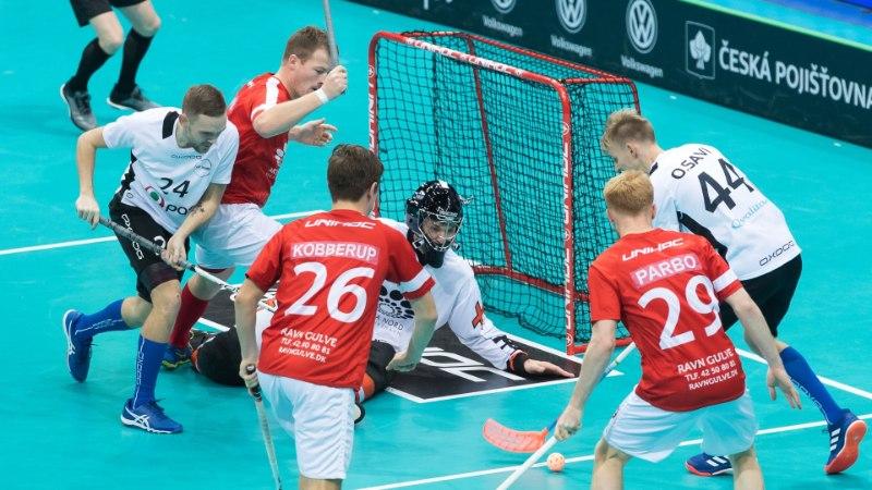 Eesti koondis tuli kahel korral kaotusseisust välja, kuid langes MMi kaheksandikfinaalis