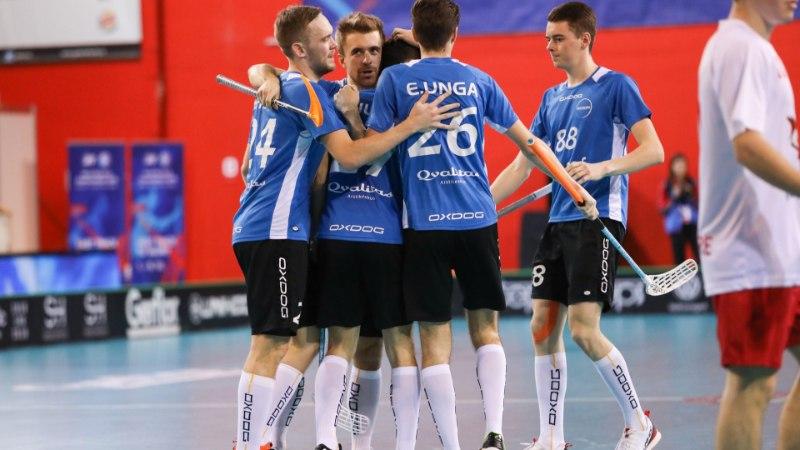 Eesti alistas kindlalt Kanada ja mängib MMil 9. koha peale