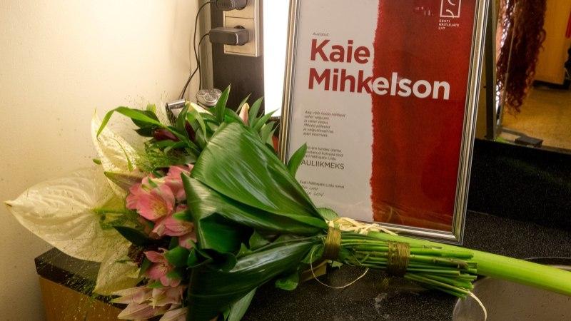 Eesti Näitlejate Liit valis Kaie Mihkelsoni oma auliikmeks