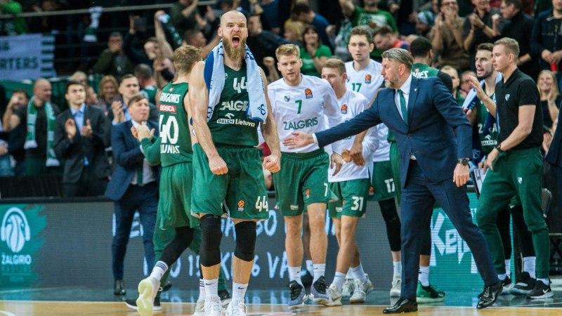 Kaunase Žalgiris alistas kodusaalis kolmekordse Euroliiga võitja