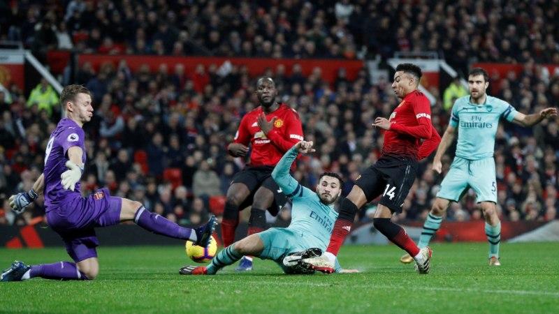 Kahel korral kaotusseisu jäänud Manchester United võitles viigi välja