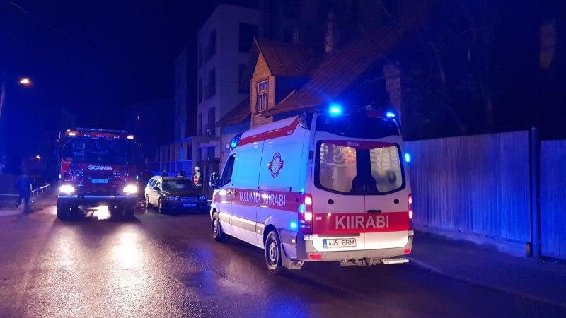 ПОЖАР В ЦЕНТРЕ ТАЛЛИННА: двое погибших, четверо в больнице (ФОТО)