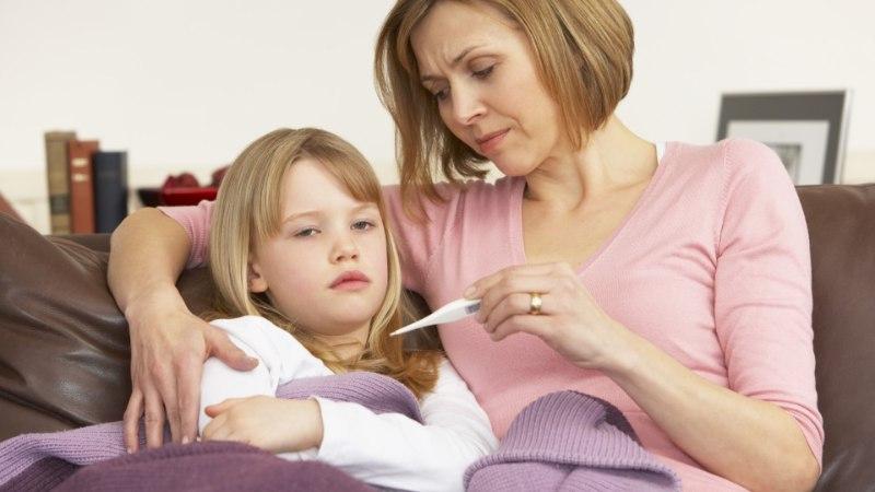 PEREARST VIIRUSHAIGUSTEST: lasteaiaealisel on isegi 10–15 haigestumist aastas tavapärane