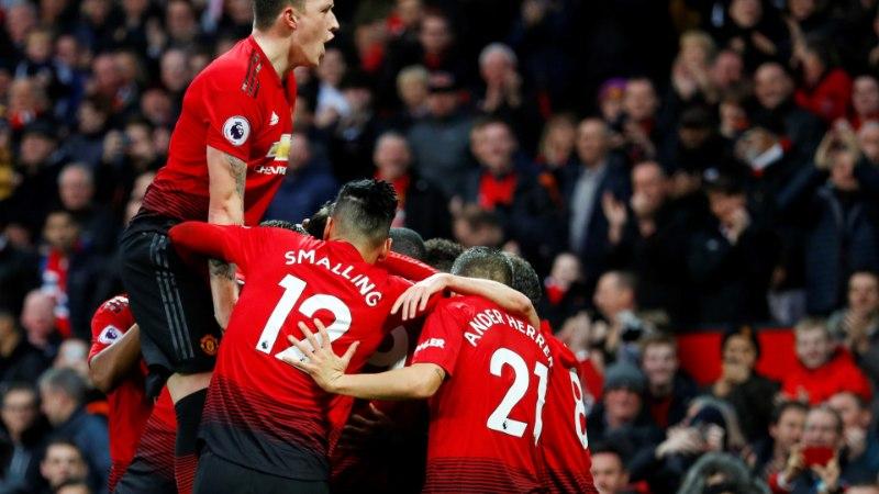 Manchester United teenis hooaja suurima võidu, Lukaku lõpetas ülipika väravapõua