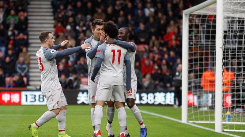 Imeline Salah ja fantastiline Liverpool röövisid Manchester Citylt liidrikoha!