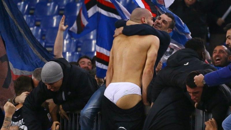 KUMMALINE FOTO | Spordimaailmas lööb laineid püksata tippmängija!