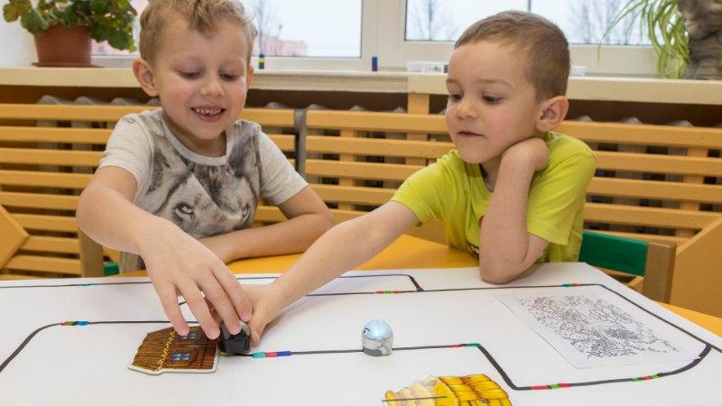 Robotid on juba kohal, igas lasteaias