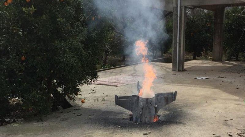 FOTOD   Süüria õhutõrje lasi alla Iisraeli hävitaja