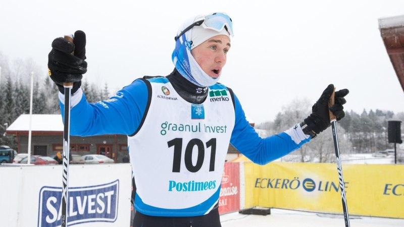 ÕL OLÜMPIAL | Andreas Veerpalu kukkus: kõva tuulepuhang tõukas mind kõhuli maha
