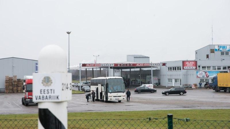 Piirikaubandus hoos: eestlased maksid mullu Lätis kaardiga 66 miljoni euro väärtuses ostude eest