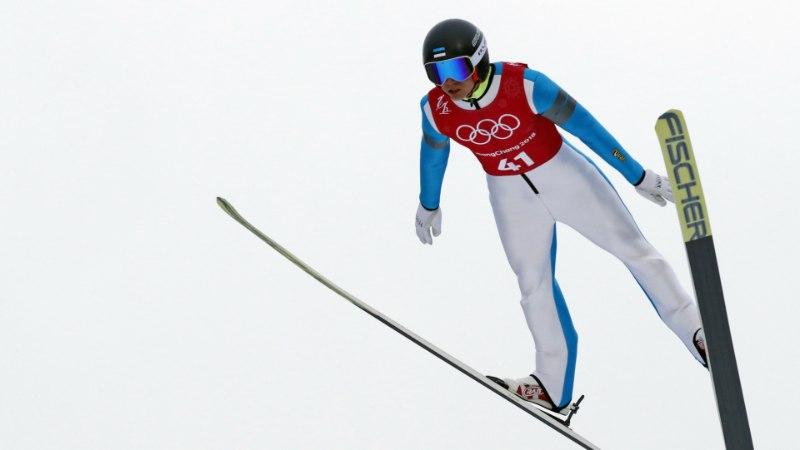 ÕL OLÜMPIAL | Šmigun saatis Ilvese sõnadeta olümpiale: ta viskas rusika püsti ja läks