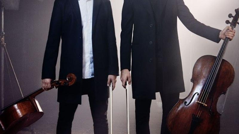 Suurel rokipeol Rock In Haapsalu esineb maailmakuulus tšelloduo 2Cellos