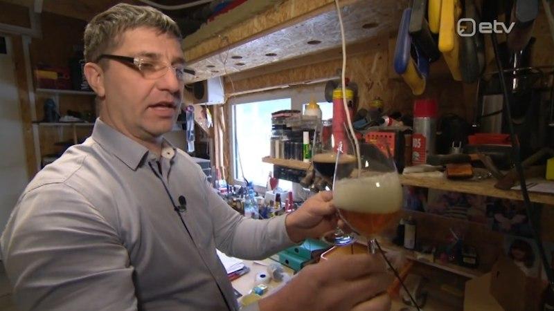 VIDEO | Eesti mees ajab oma garaažis sadu liitreid õlut
