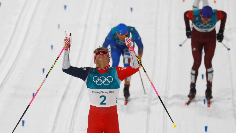 ÕL OLÜMPIAL | Võimas Kläbo napsas legendaarselt Gunde Svanilt olümpiarekordi
