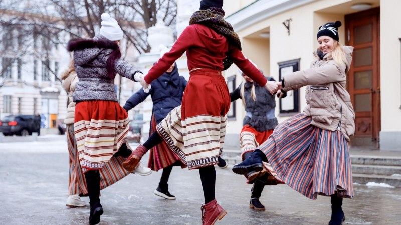 VIDEO JA GALERII   Rahvusooper Estonia tähistas täna vastlapäeva