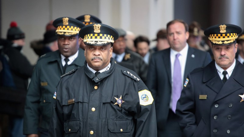 Chicagos tapeti kõrge politseiametnik