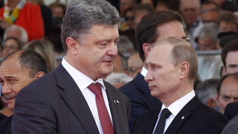Стали известны подробности телефонного разговора Путина и Порошенко