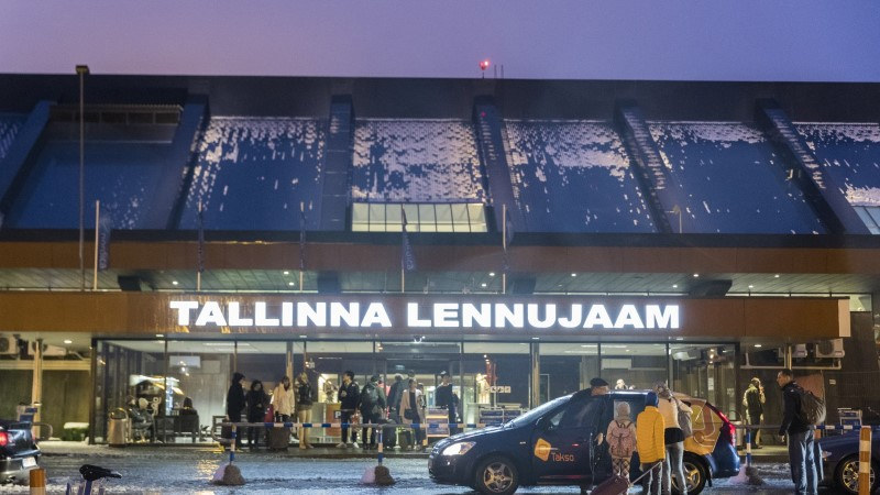 Rumal nali Tallinna lennujaama check-in'is lõppes politseijaoskonnas