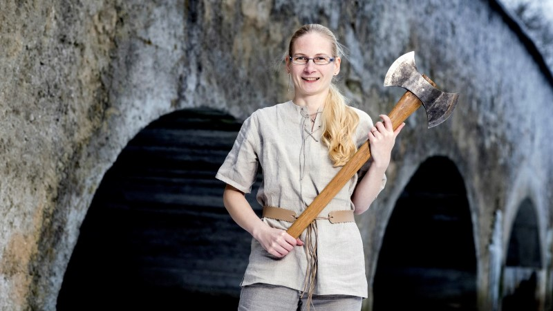 Saage tuttavaks Maarika Lepikuga - Maarjamaa kõige kõvema naissoost kirveviskajaga!