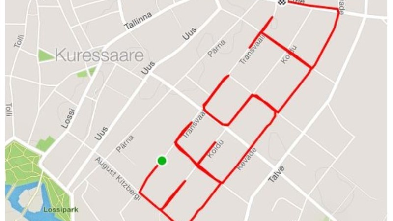 VAATA: Eesti hümn sai GPSi abil maailmakaardile