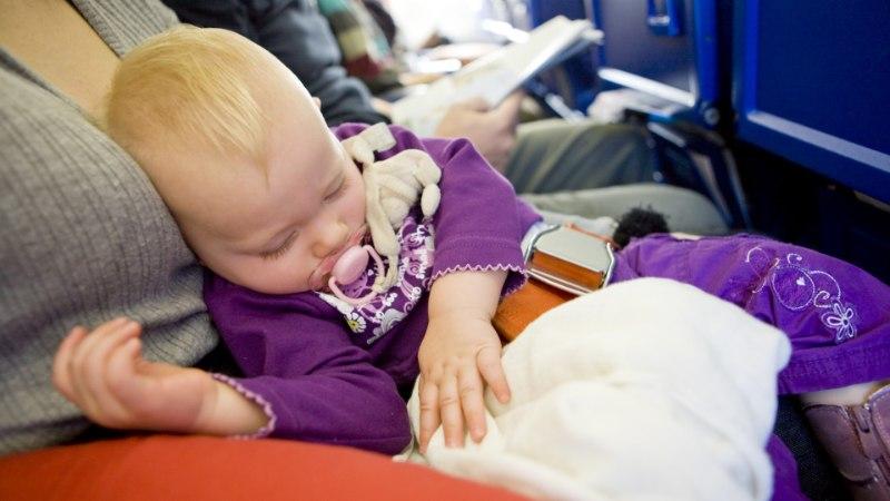 LAPSED LENNUKIS: igavene tüliõun, millele lennufirmad lahendust ei leia