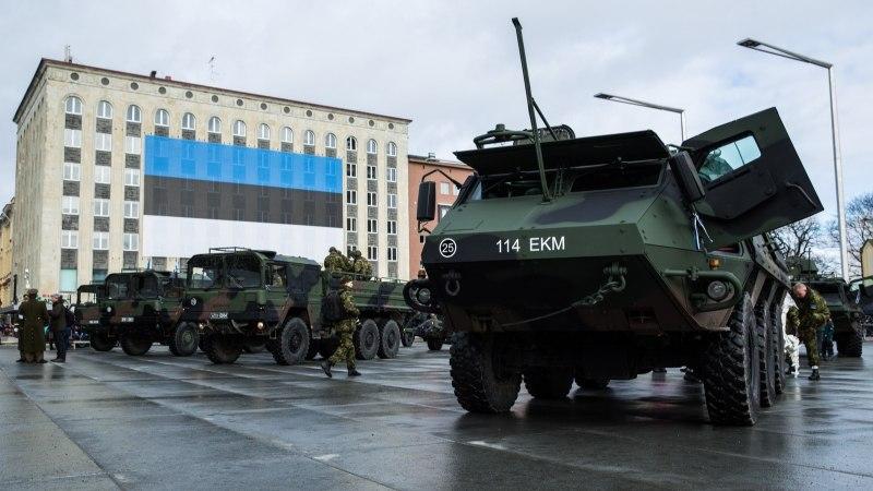 EV100: aastapäeva sõjaväeparaadil osalevad ka USA orkester ja Briti tankid
