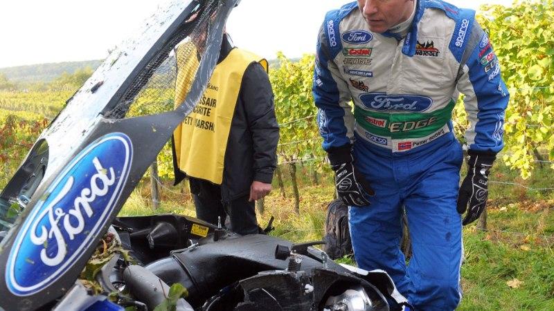 Eksmaailmameister Solberg sepistab imelist tagasitulekut WRC-sarja