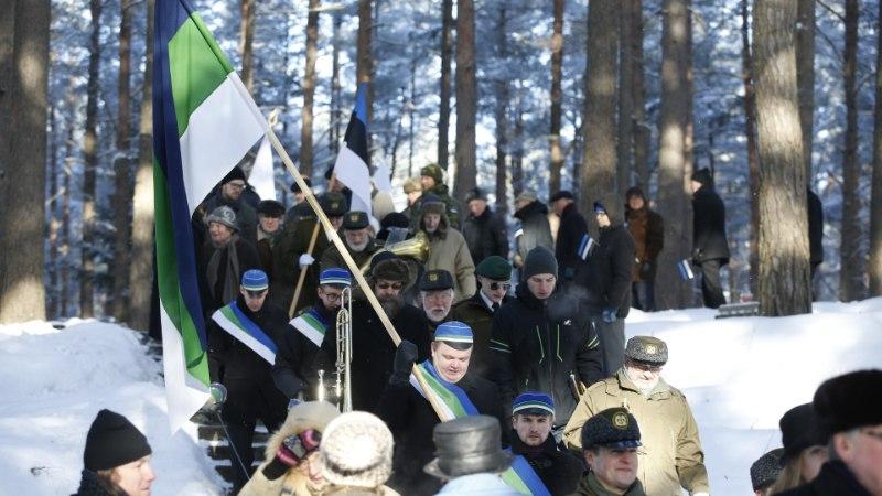FOTOD | EV100 eel mälestati riigi ühte loojat Konstantin Pätsi ja teisi riigivanemaid