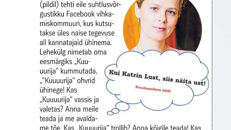 """""""Lusti kummutaja"""": pidime lehe sulgema, sest Lust ja tema fännid häkkisid meie kontot"""