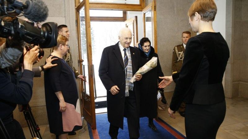 GALERII | Eesti presidendid kogunesid ühisele lõunasöögile