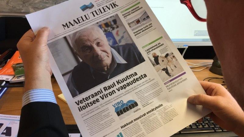 VIDEOD JA FOTOD | Soome riik ja saatkond õnnitlevad, suurleht ilmus täna eestikeelse nimega