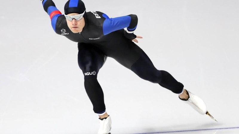 Marten Liiv näitas olümpiaovaalil väga head minekut, kuld jätkuvalt Hollandisse