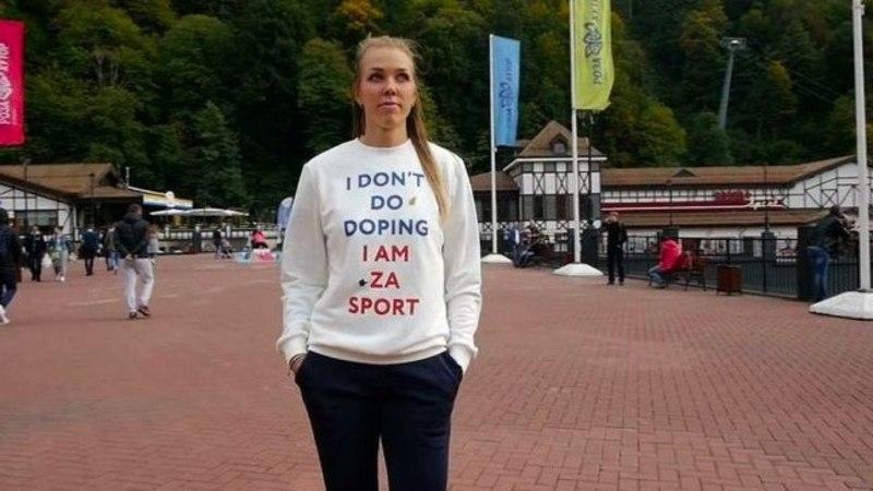 VIDEO | Petiseks osutunud venelanna eputas dopinguvastase džempriga