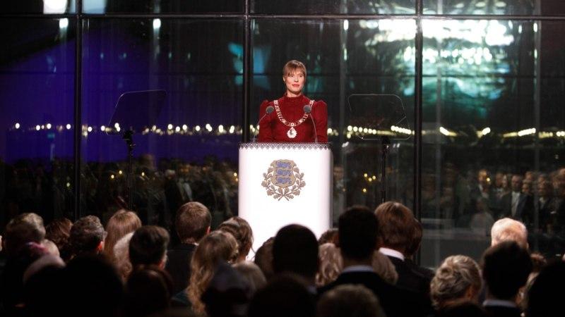 SUUR GALERII KÄTLEMISTSEREMOONIALT   Presidendipaar tervitas ligi 1500 külalist