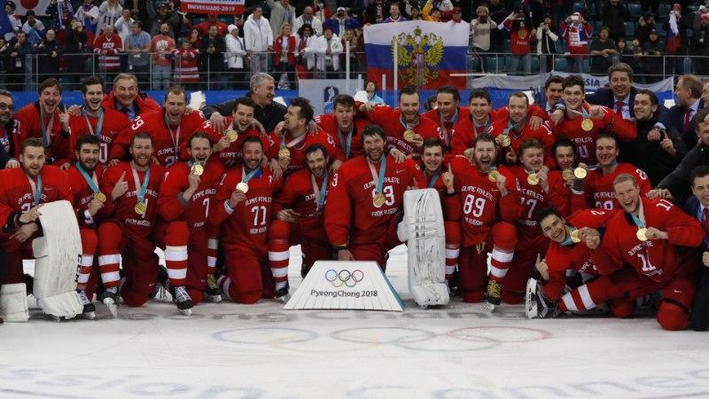 ÕL OLÜMPIAL | Huku äärel olnud Venemaa võitis unustamatu hokikulla