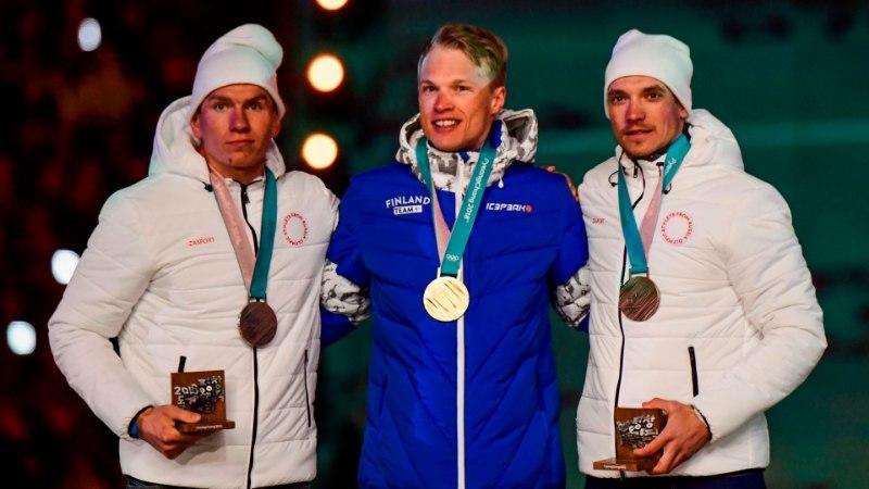 Soomlased imestunud: Pyeongchangis olümpiavõitjaks tulnud Niskaneni auks mängitud hümniga pandi puusse